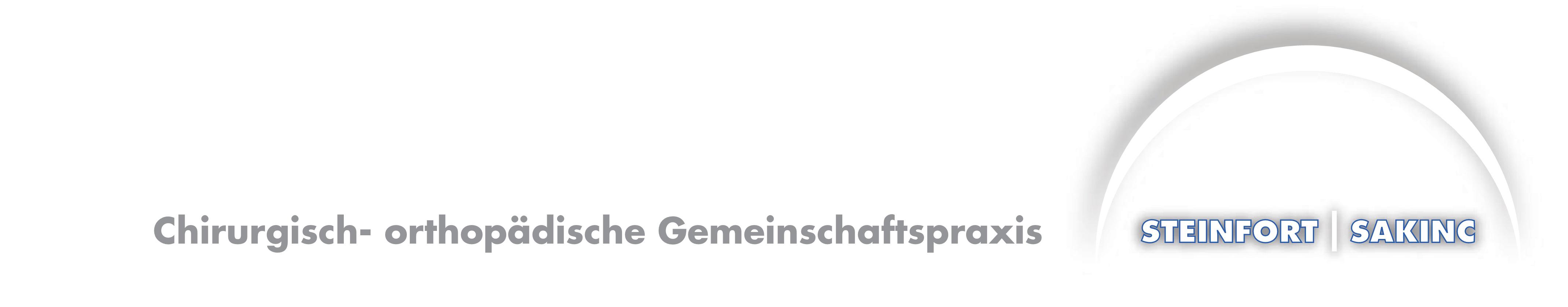 Chirurgisch – orthopädische Gemeinschaftspraxis | Dr. med. Heinrich Steinfort / FA. Talip Sakinc|